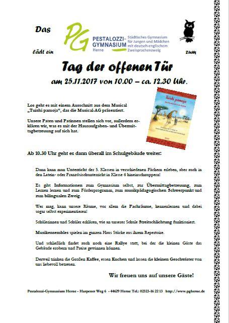 Tag Der Ffenen Tr Pg 25 11 2017