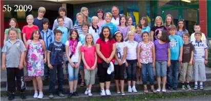 Klasse 5b 2009/10