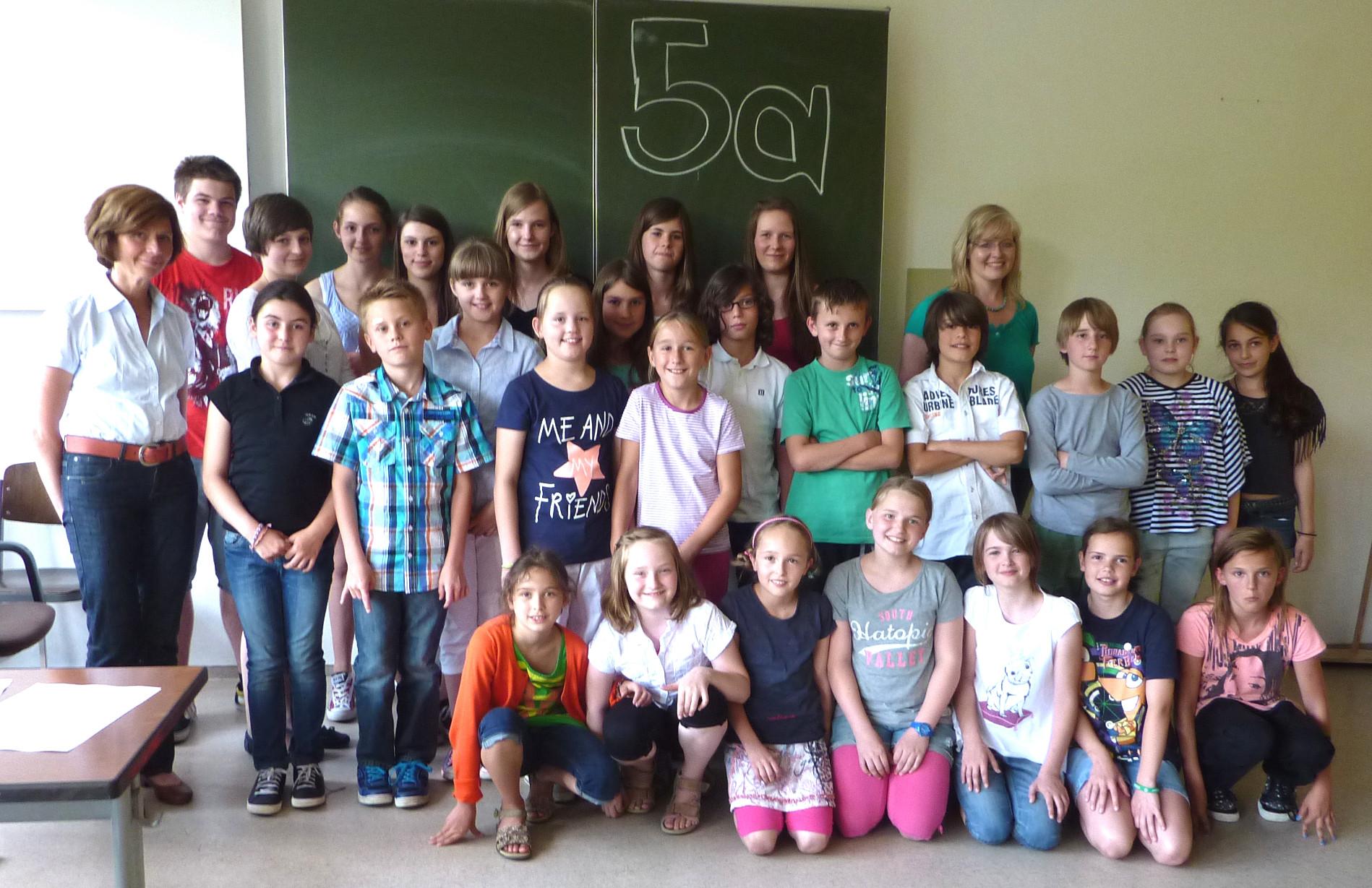 Klasse 5a 2013/14