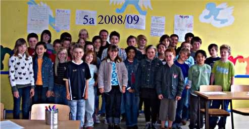 Klasse 5a 2008/09