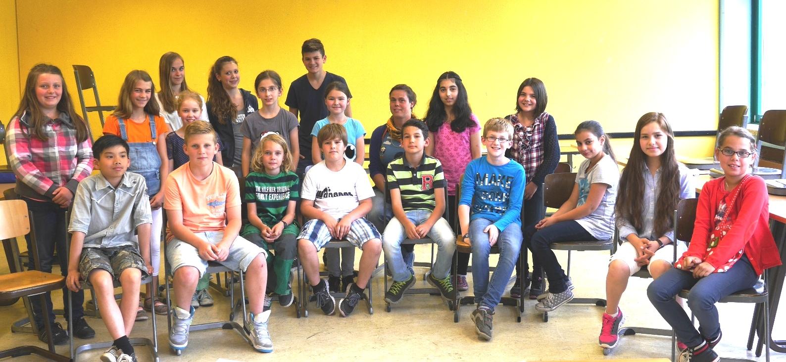 Klasse 5b 2014/15