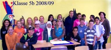 Klasse 5b 2008/09