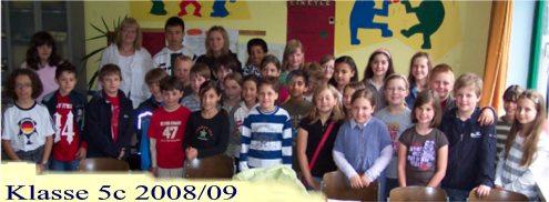 Klasse 5c 2008/09