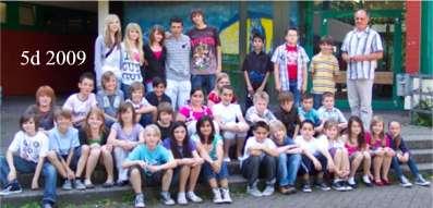 Klasse 5d 2009/10