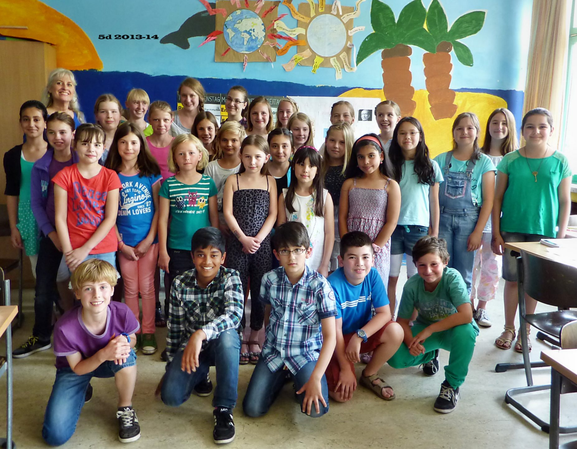 Klasse 5d 2013/14