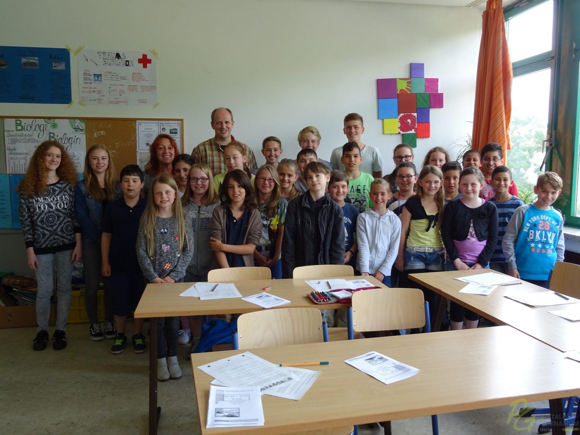 Klasse 5b 2016/17