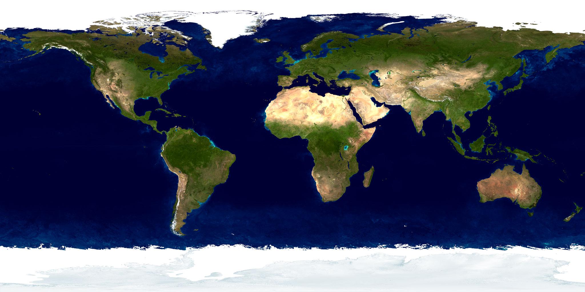Erdkunde Karte