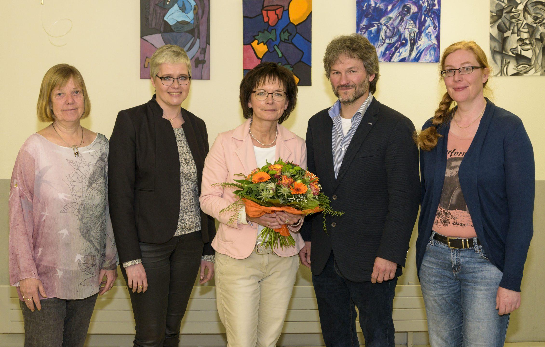 Schulleiter Volker Gößling und sein Team