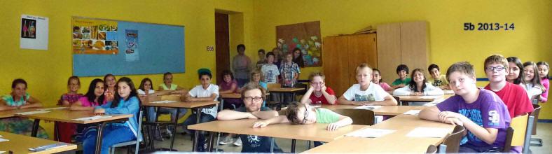 Klasse 5b 2013/14