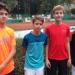 Auch das Pestalozzi-Tennisteam der Jungen wurde in der WK III Stadtmeister