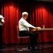 szenische Lesung mit Schaustellern der Hannoverschen Kammerspiele für den 9. Jg am tradionellen Friedenstag des PG