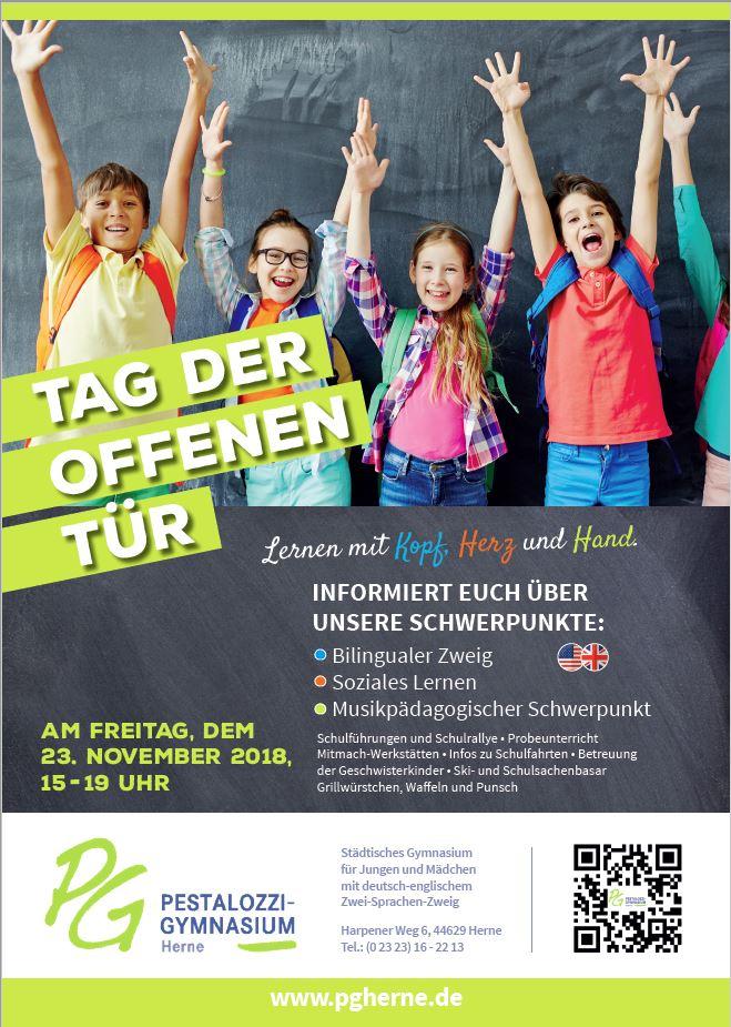 Plakat Tag Der Offenen Tr Pg Jg 5 2018
