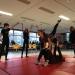 Akrobatik-Flashmob in der Pause