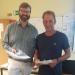 Dr. Albrecht Geck und Christoph Edler feiern 25-jähriges Dienstjubiläum