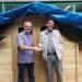 PondeRossa im Atriumhof: vielen Dank dem Spender und den Erbauern