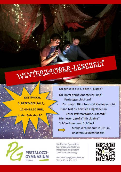 Winterzauber Lesezelt 2019