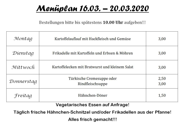 Pestro Speiseplan 16bis20 03 2020