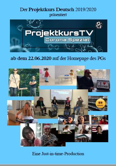 Projektkurs TV 2020 Plakat