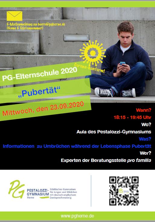 PG Elternschule Pübertät 23 09 2020 Plakat 10x DinA2 Bunt