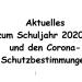 Angepasster Schulbetrieb in Corona-Zeiten – Stand 02.12. (Mi.) 8.35 h