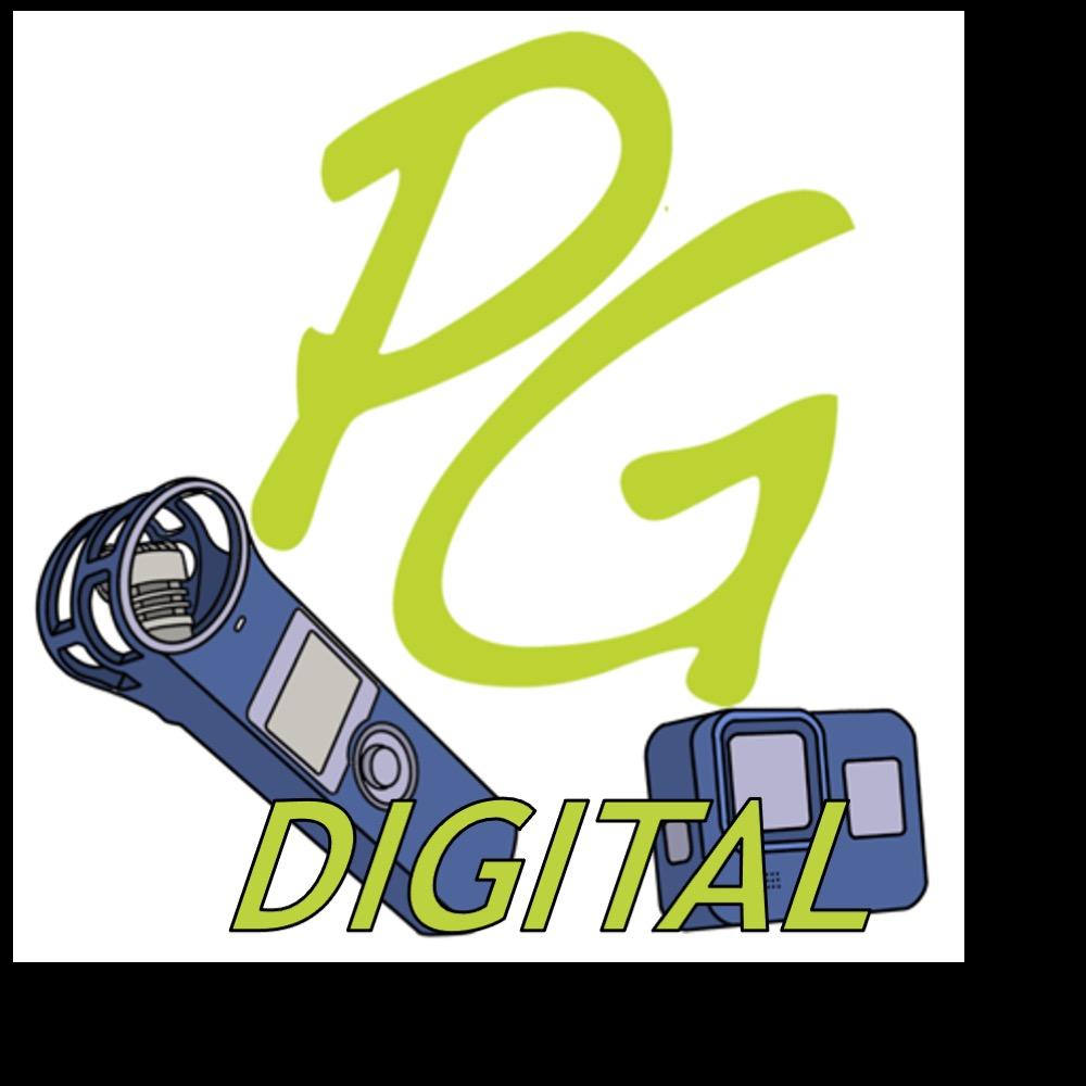 PG DIGITAL Logo