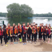 Fotos der Sporttage des 9. Jg. mit Wasserski, Rudern und Waveboard