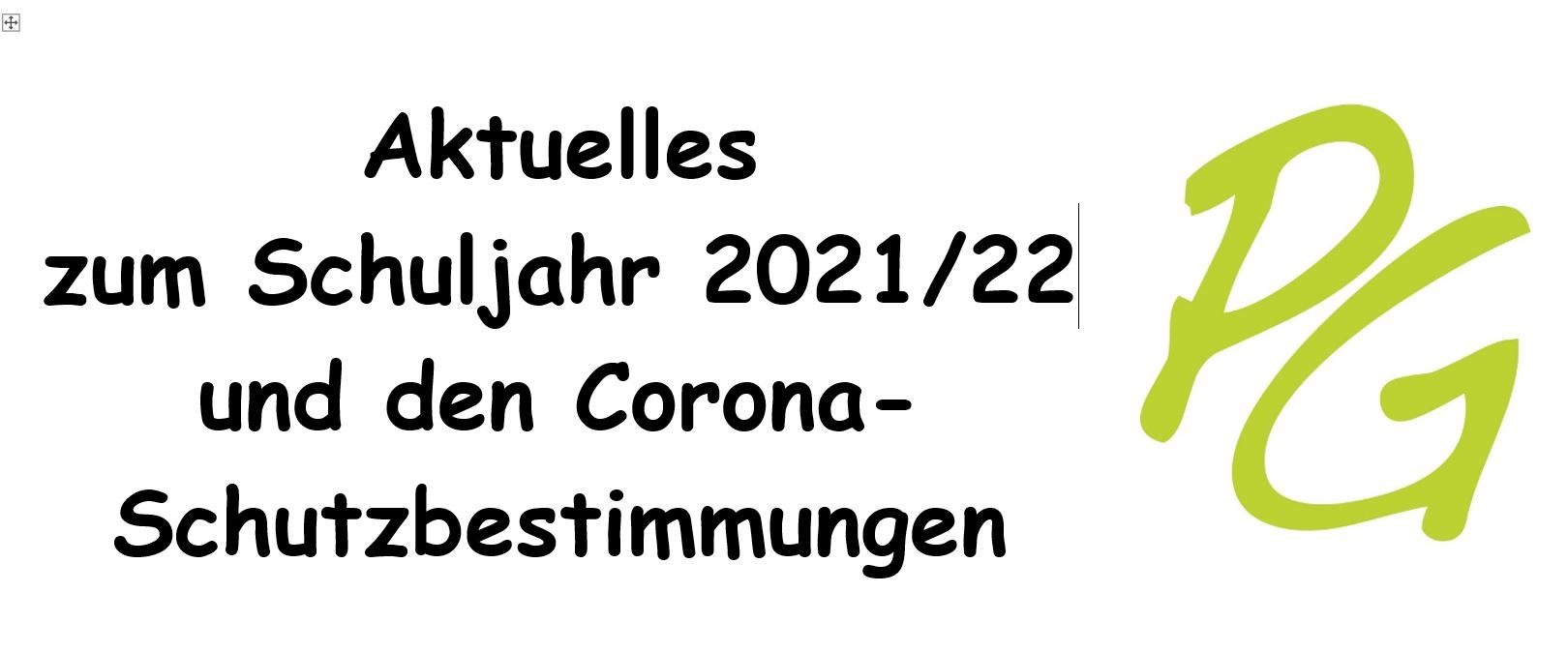 Aktuelle Schuljahr 2021 22 Am PG Unter Corona Schutzbestimmungen