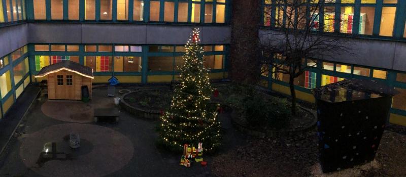 Atrium Weihnachtlich